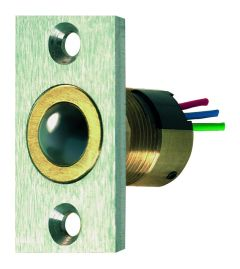 CONICAL BALL SWITCH WITH 4M CABLE, SQ FACE PLATE