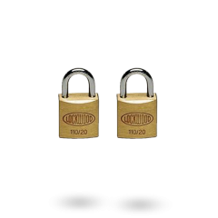 110 SERIES PADLOCK 20MM WITH 11MM SHACKLE NDP