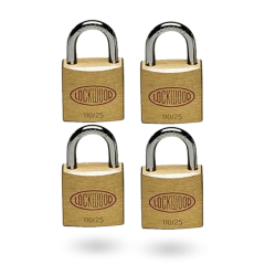 110 SERIES PADLOCK 25MM WITH 15MM SHACKLE NDP