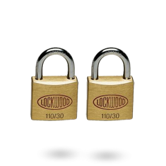 110 SERIES PADLOCK 30MM WITH 19MM SHACKLE NDP